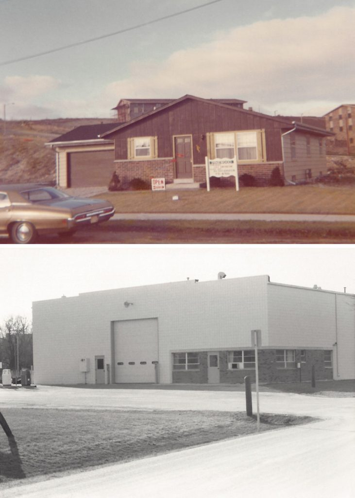 1970: Expanded into building